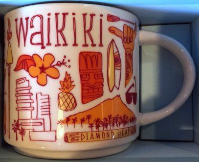 Starbucks Been There Waikiki mug