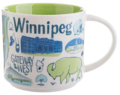 Starbucks Been There Winnipeg mug