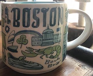Starbucks Been There Boston 2 mug