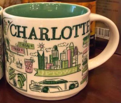 Starbucks Been There Charlotte mug
