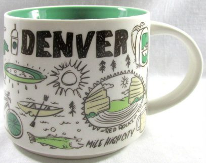 Starbucks Been There Denver mug