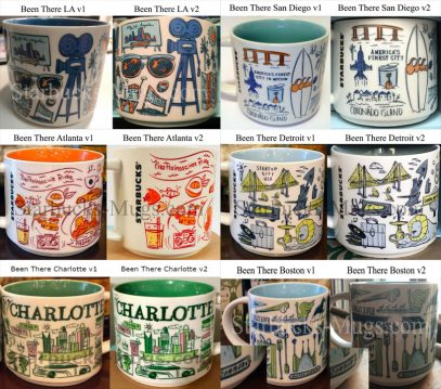 Starbucks San Diego Been There Series Mug First Version NEW