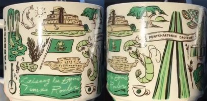 Starbucks Been There Louisiana 2 mug