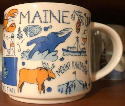 Starbucks Been There Maine mug