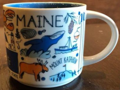 Starbucks Been There Maine 2 mug