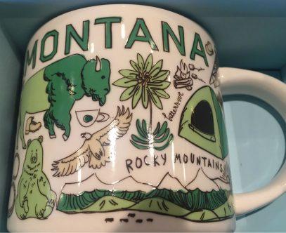 Starbucks Been There Montana 2 mug