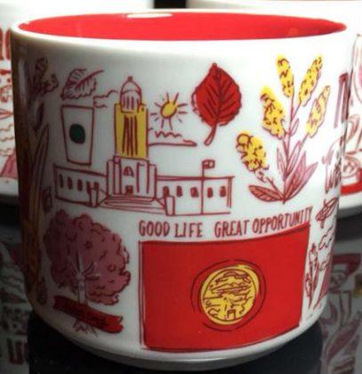 Starbucks Been There Nebraska 2 mug