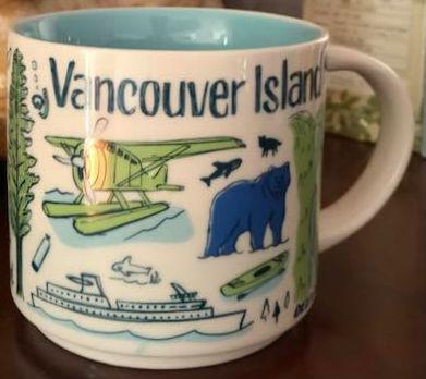 Starbucks Been There Vancouver Island mug