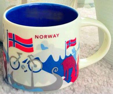Starbucks You Are Here Norway mug