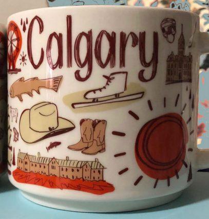 Starbucks Been There Calgary mug