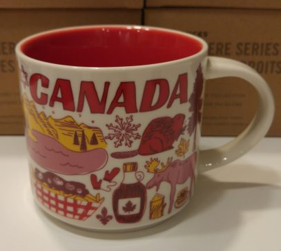 Starbucks Been There Canada mug