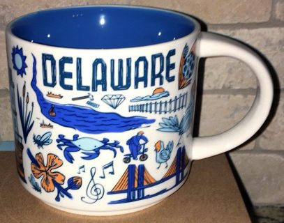 Starbucks Been There Delaware 2 mug