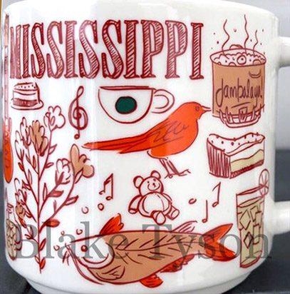 Starbucks Been There Mississippi mug