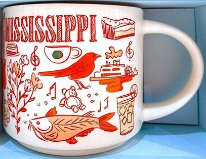 Starbucks Been There Mississippi 2 mug
