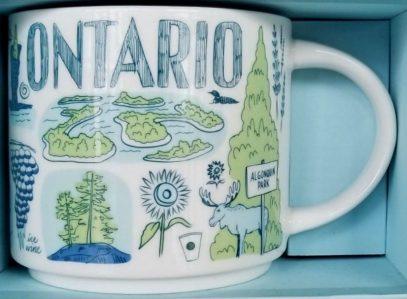 Starbucks Been There Ontario mug