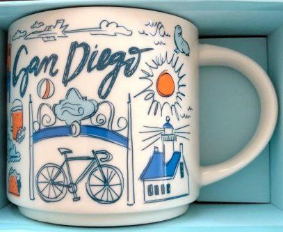 Starbucks Been There San Diego 2 mug