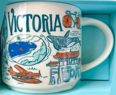 Starbucks Been There Victoria mug