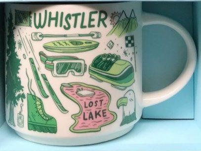 Starbucks Been There Whistler mug