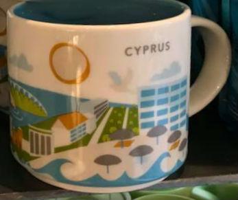 Starbucks You Are Here Cyprus mug