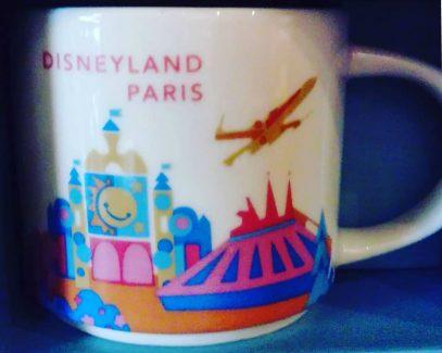 You Are Here Disney Starbucks Mugs
