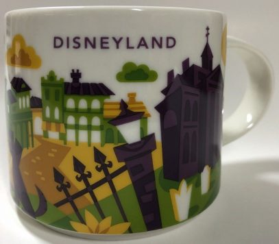EPCOT Magic Kingdom BTS Starbucks Mugs Disney Set Of 2
