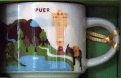 Starbucks You Are Here Ornament Puer mug