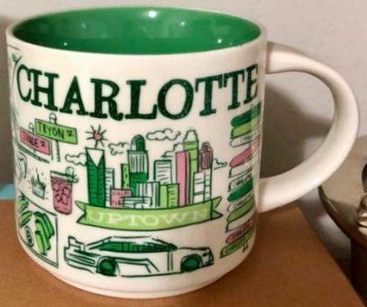 Starbucks Been There Charlotte 2 mug
