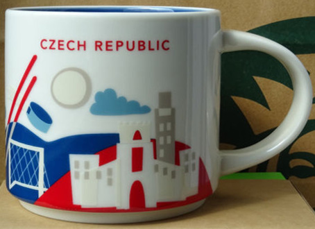 You Are Here Czech Republic Starbucks Mugs