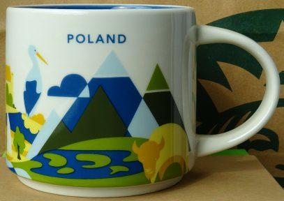 Starbucks You Are Here Poland mug