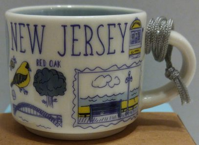 Starbucks Been There Ornament New Jersey mug