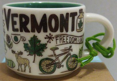 Starbucks Been There Ornament Vermont mug