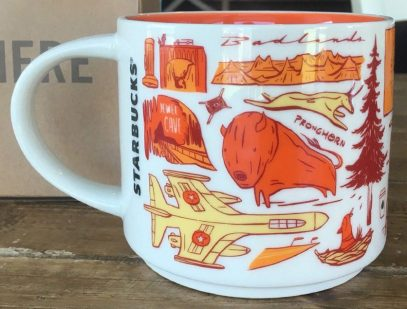 Starbucks Been There South Dakota 2 mug