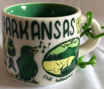 Starbucks Been There Ornament Arkansas mug