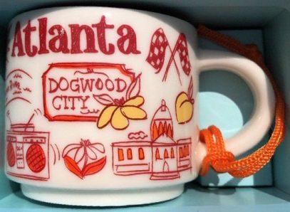 Starbucks Been There Ornament Atlanta mug