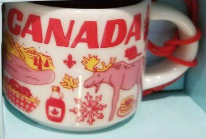 Starbucks Been There Ornament Canada mug