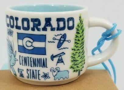 Starbucks Been There Ornament Colorado mug