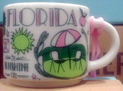 Starbucks Been There Ornament Florida mug