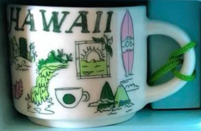 Starbucks Been There Ornament Hawaii mug