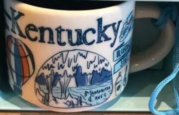 Starbucks Been There Ornament Kentucky mug