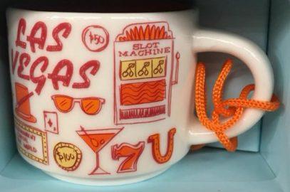 Starbucks Been There Ornament Las Vegas mug