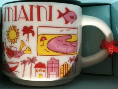 Starbucks Been There Ornament Miami mug