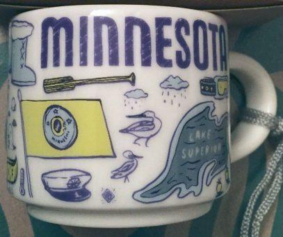 Starbucks Been There Ornament Minnesota mug