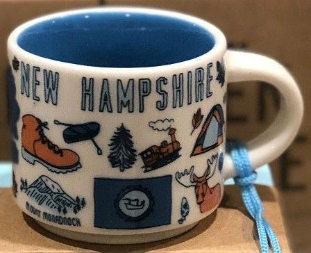 Starbucks 2oz NEVADA Demi Tasse BEEN THERE mug Ornament Cup Mini Mug NIB