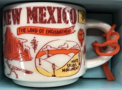 Starbucks Been There Ornament New Mexico mug