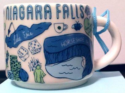Starbucks Been There Ornament Niagara Falls mug