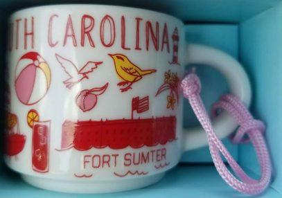 Starbucks Been There Ornament South Carolina mug