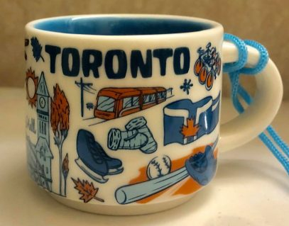 Starbucks Been There Ornament Toronto mug