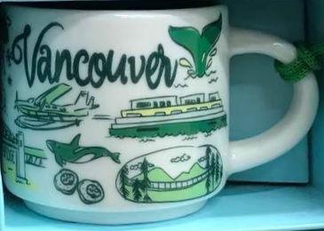 Starbucks Been There Ornament Vancouver mug