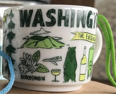 Starbucks Been There Ornament Washington mug