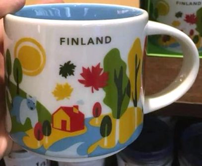 Starbucks You Are Here Finland mug